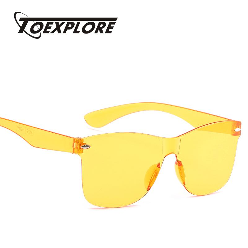 42653bc9773e TOEXPLORE Women Cat Eye Sunglasses Men Brand Designer Eyewear ...
