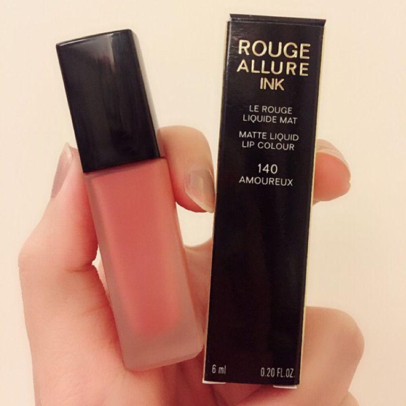 Huda Lip Makeup France Beauty Brand Rouge Allure Ink Matte Liquid Lipstick  Lip Colour 6mL - 140