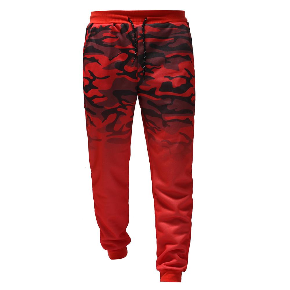 2019 Hot Sale Camouflage Pants Men Casual Fitness Trousers Male's Cargo Pants Knee Pads For Work Sweatpants Joggers CG