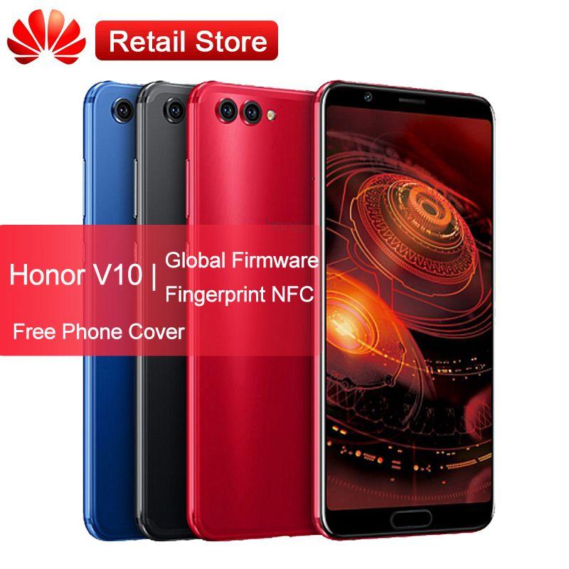 Global Firmware Huawei Honor View V10 4G Phone 5 99