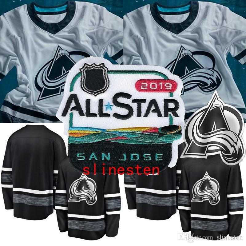 ado Avalanche 2019 All Star Game Jersey Mens 17 Tyson Jost 29 Nathan  MacKinnon 92 Gabriel Landeskog 96 Mikko Rantanen Hockey Jersey From  Slinesten a8053e4d2