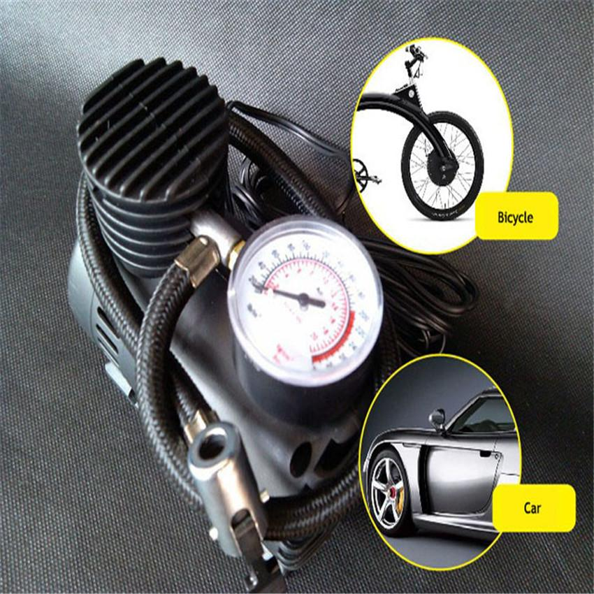 Franchise 12V Car Auto Electric 300PSI Air Compressor Tire Inflator Pump tricycle Outdoor Sports High Efficiency Self-priming