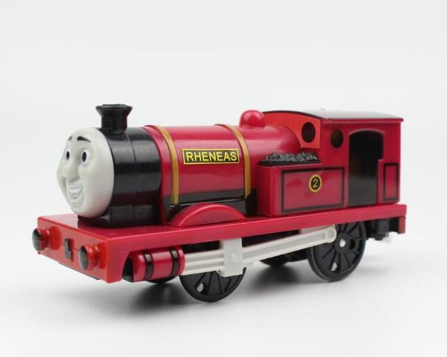 Rheneas R Electric Trains Motorized Train Set Compatible with Brio Train Track Railway Engine Locomotive Gift for Children