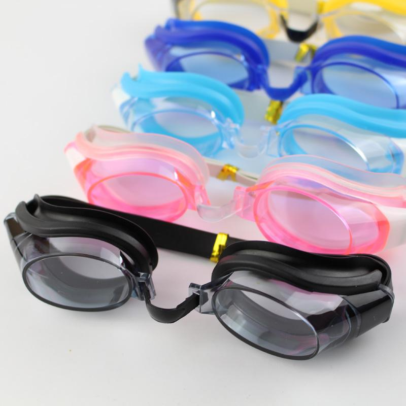 Children Kids Teenagers Adjustable Swimming Goggles Swim Eyewear Eye Glasses Eyeglasses Sports Swimwear w/ Ear Plugs & Nose Clip