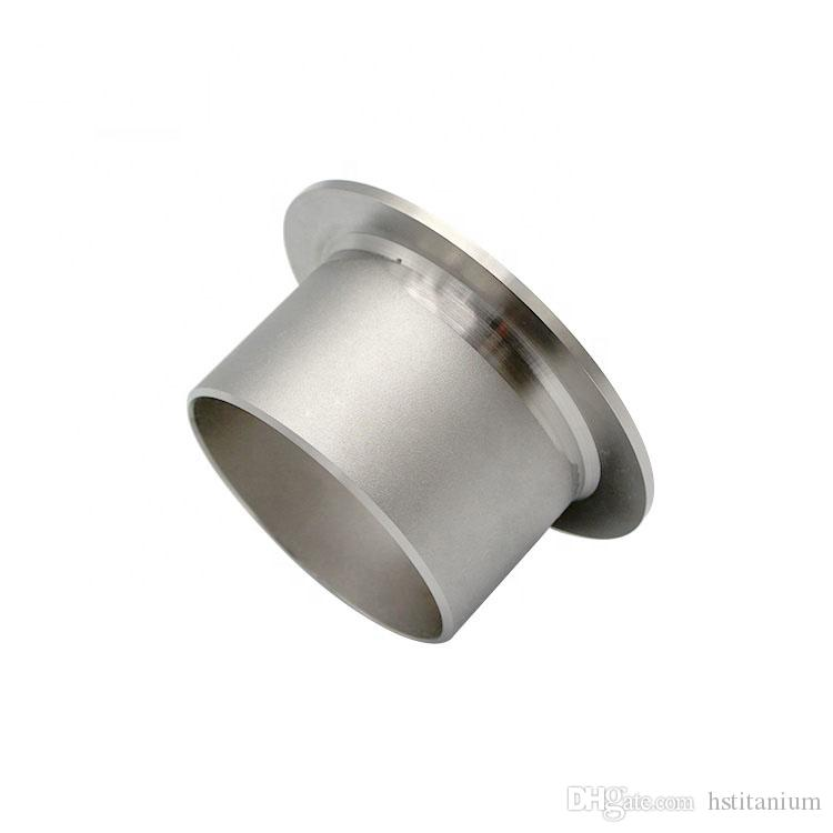 ASME B16 9 gr2 titanium pipe fitting elbow/cap/stub end for Industry end  flange price grade 2 ASTM B363 Titanium Grade 2