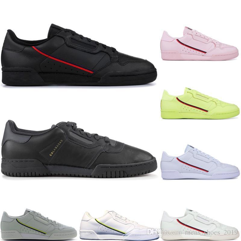 Acheter Adidas Continental 80 HommesFemmes Soldes France