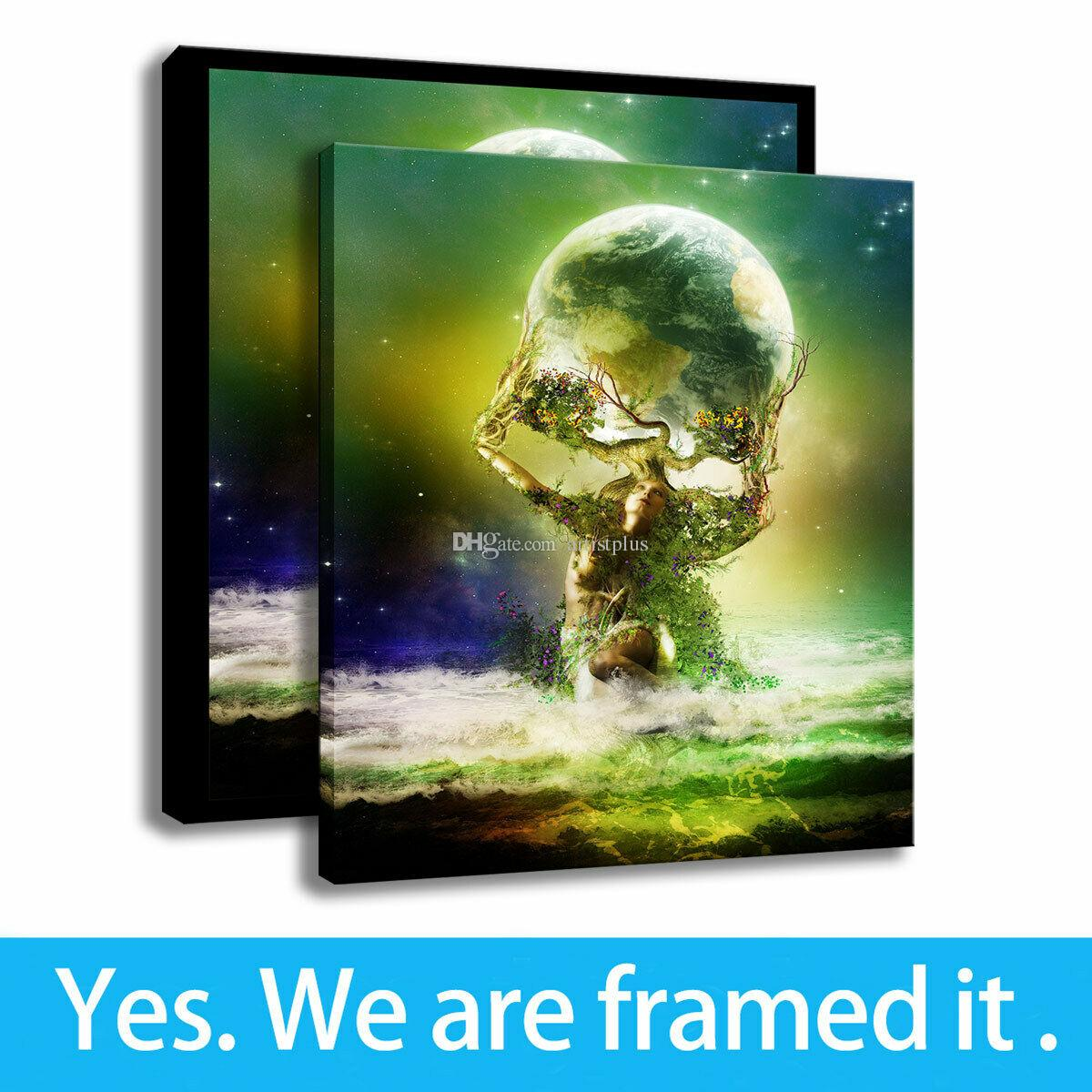 Greek Mythology Art HD Print Canvas Oil Painting Fantasy Poster Home Deco Framed Art - Ready To Hang - Support Customization