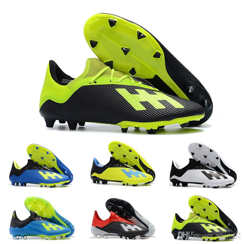 finest selection a8aa1 52ef9 2019 Cheapest Football Boots ACE Tango 18.3 Indoor Soccer Shoes High  Quality ACE 18.3 FG Purechaos FG Soccer Cleats Large Order Wholesale