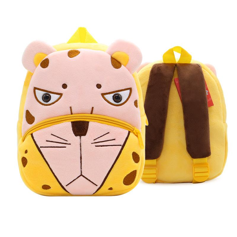 824e218d6cda Kindergarten Plush Lightweight Schoolbag 3d Cartoon Children Animal Backpacks  Kids Flamingo Bee 2 4 Years Girls Boys School Bags Leather Backpack Laptop  ...