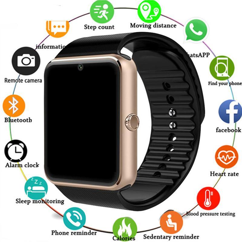 0e820fc96 2019 Smartwatch GT08 Smart Watch Women Men Relogio Phone Call Big Battery  SD Card Touch ScreenFor Xiaomi Huawei IPhone Watch Smart Watches Pebble  Smartwatch ...