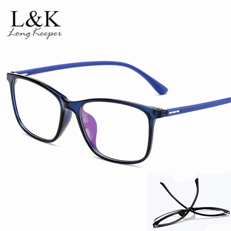 2146f02772e7 2019 2019 New Women Glasses Frame Men Retro Eyeglasses Frame Vintage Square  Blue Clear Reading Glasses Optical Spectacle From Marquesechriss