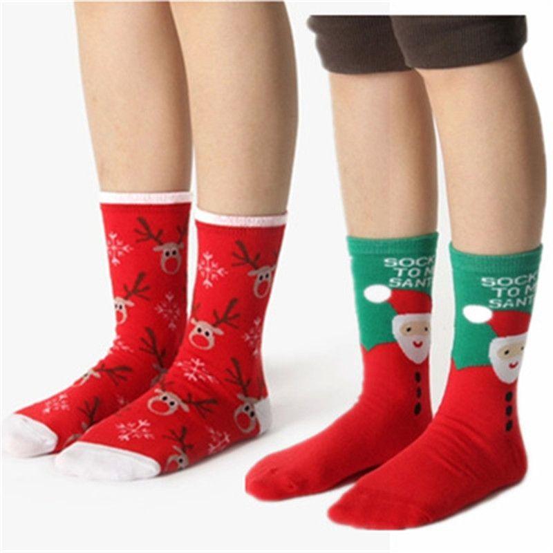 7e1ed84aa46a1 2018 Christmas Animal Print Socks Women Cotton Elk Winter Cartoon Deer Snow Man  Cute Socks New Year Gift Meias 3/6/ Online with $36.11/Pair on ...