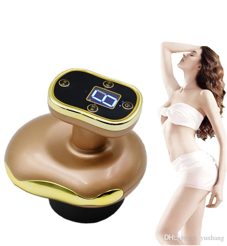 Portable Electric Dredge Meridian Instrument Built-in battery Slimming Massage Traders Household Cupping and Scrapping Relaxing Full Body Ma