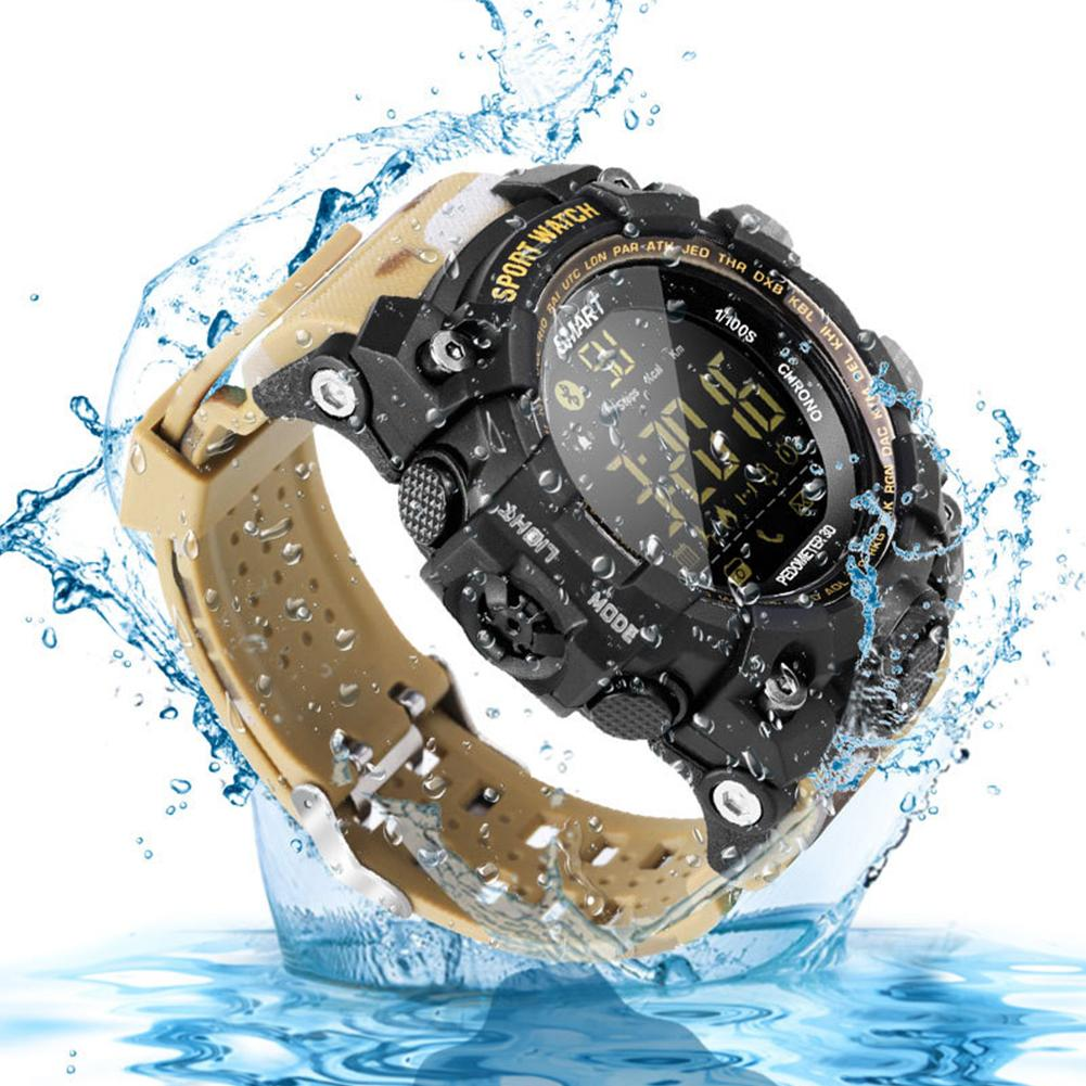 Digital Watches Ex16s Multifunction Waterproof Smart Watch Remote Camera For Android For Ios Smart Watch Men Blood Pressure Waterproof Watch
