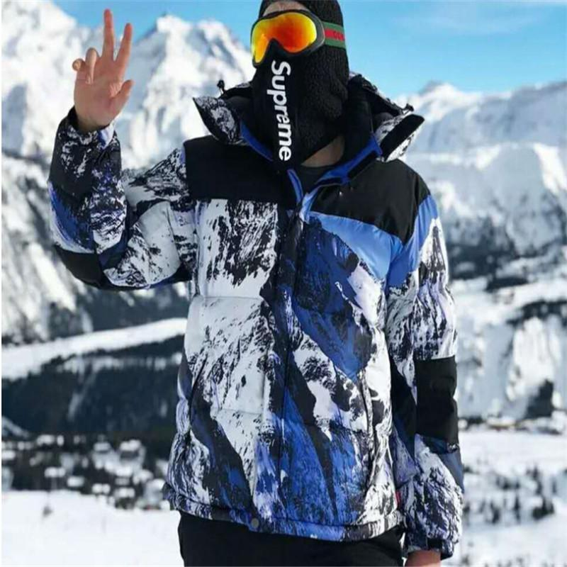e16faad6b 2019 Selling 2018 2019 New Outdoor Sports Snow Mountain Hooded Down ...