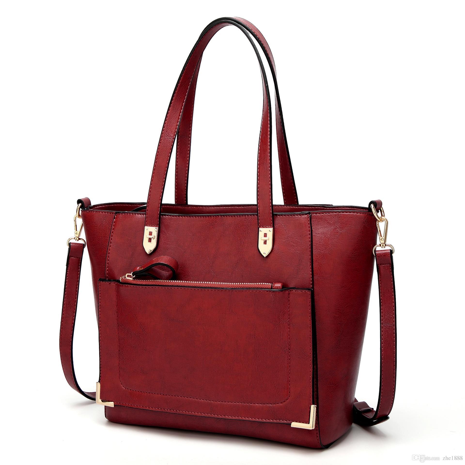 ad391ed20801 2018 new best selling women's bag fashion handbag casual shoulder slung  tote bag ladies bag
