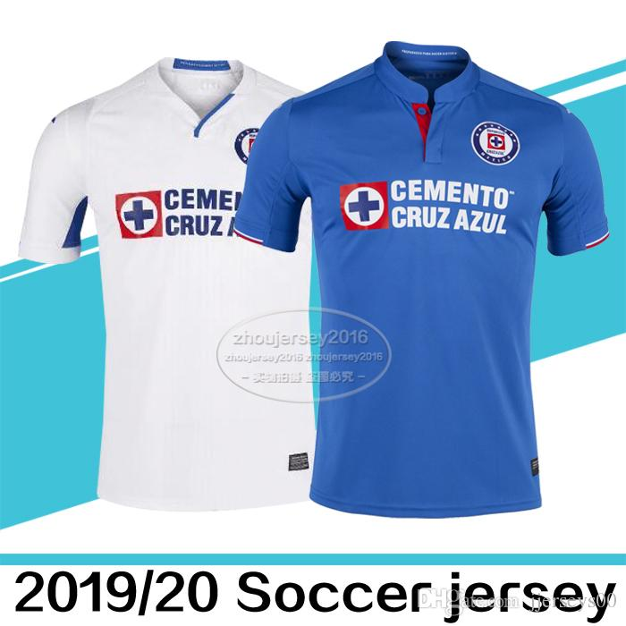 ac098520ab5 2019 Thai Quality 2019 2020 Liga MX Cruz Azul Jerseys Men Outdoor T Shirts  18 19 Cruz Azul Home Away Third Adult Shirts Outdoor T Shirts From  Jjerseys00