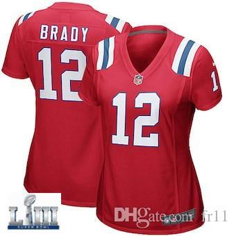 2019 Tom Brady Jersey Pro Super Bowl LIII New England Rob Gronkowski ... 877c58c5f