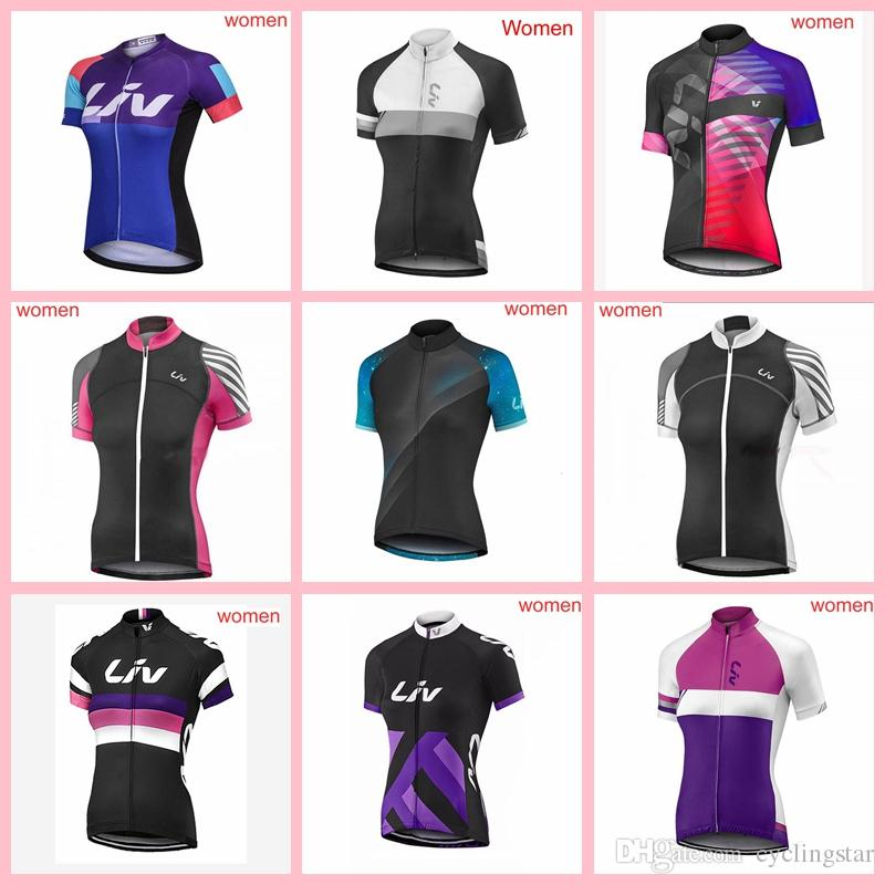 2019 Team Liv Cycling Clothing Bike Jersey Quick Dry Womens Bicycle