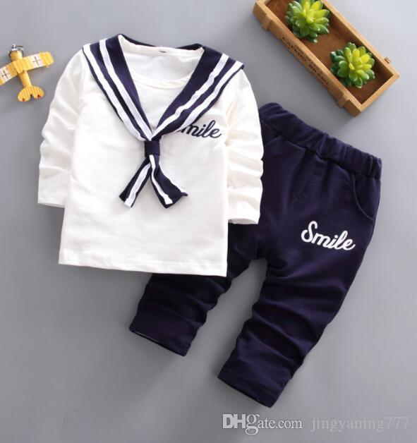 2019 New Best-selling Children's College Wind Chorus Clothing Autumn Army Dress Show Boys and Girls Navy Suit Factory Direct Selling