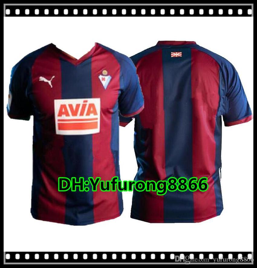 2019 18 19 Eibar Soccer Jersey Home Away 2018 2019 Sergi Enrich Joan Marc  Cardona Pablo De Blasis Kike Football Camisa Shirt Kit Maillot From  Yufurong8866 cc6233f8a