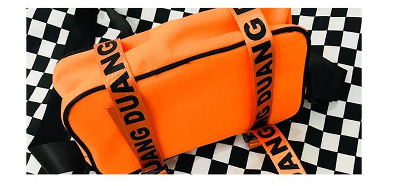 Harajuku hip-hop homens mulheres messenger bags pequena moda carta impresso sacos de ombro street couple oxford crossbody bag