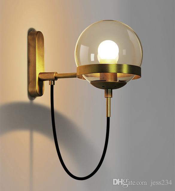 Acquista Lampade Moderne Della Lampada Da Parete Del Caffe Del