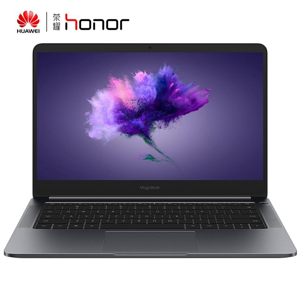 Huawei Honra Magicbook 14 Polegada i7-8550U 8G / 256 GB MX150 2 GB Sensor de Impressão Digital Laptop Notebook Win10