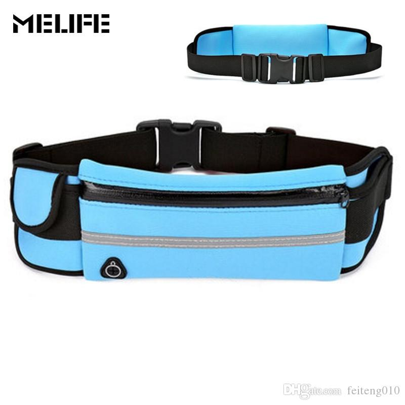 Unisex Running Waist Pack Waist Pouch Cycling Fanny Pack For Mobile Phone Gym Fitness Bag Waterproof Nylon Outdoor Sports Bag Relojes Y Joyas