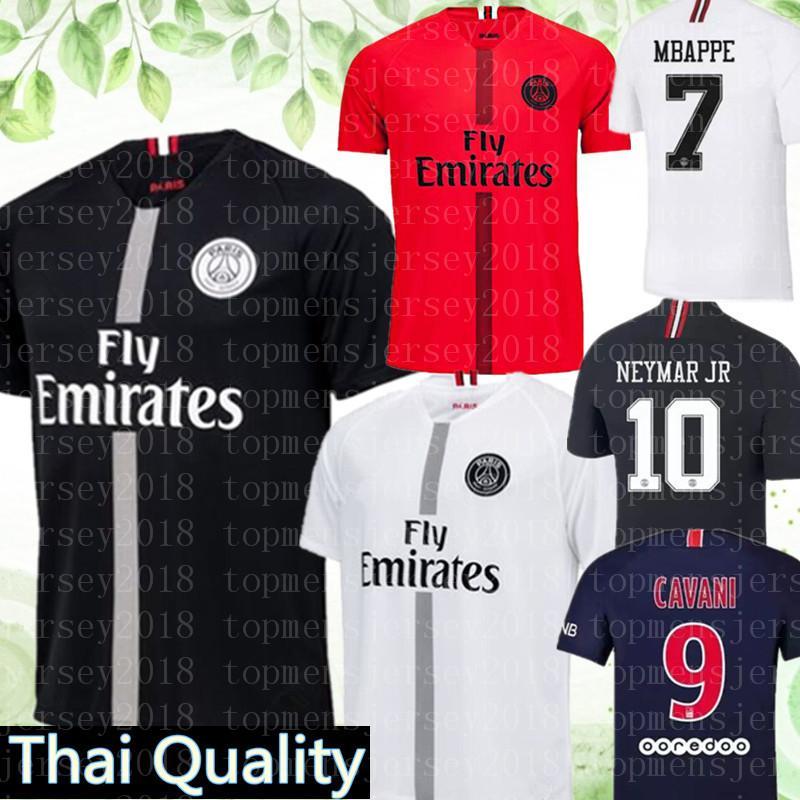 Compre 2019 PSG Camisa De Futebol 2018 Paris 3º Terceiro MBAPPE Cavani  Camisas De Futebol 18 19 Survetement Football Kit Shirt Liga Dos Campeões  De ... 5d73ea4fa7e8d