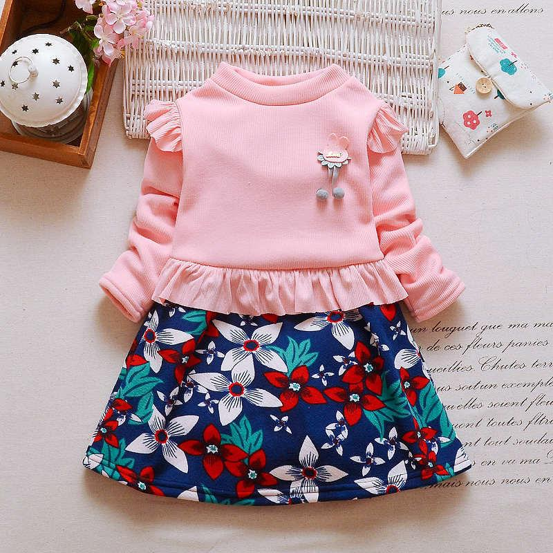 8a4708d53 2019 Good Quality 2019 Winter Knitted Dresses Cute Infant Baby Girl ...