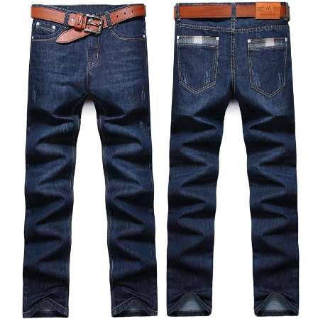 1653a1e220d34 2019 Men S Jeans Spring Men S Straight Slim Fashion Business Casual Trend  Scratched Jeans Plus Size 28 38 Activity Price NO Belt From Hugo team