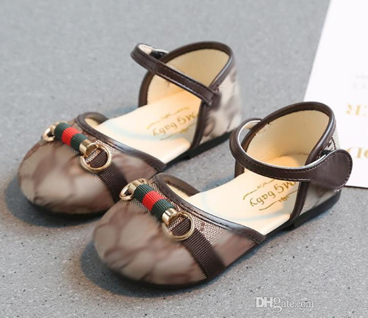 56a9a64b6 Summer 2020 New Bow Tie Big Girls Sandals Baotou Kids Sweet Princess Shoes  Baby Ballet Toddler Buty Dla Dziewczynki Brown Size 21 30 Toddler Boy  Leather ...