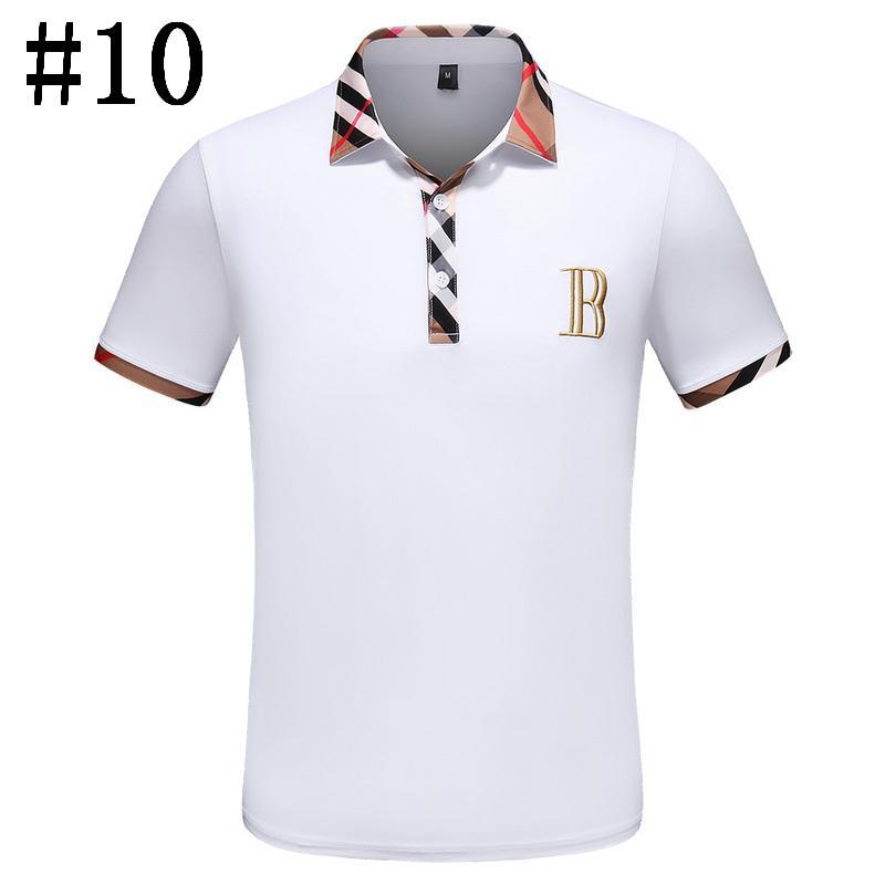 7ba3c4298f Polo 2019 Marke Baumwolle Polo-shirt Männer Business Casual Herren Kleidung  Hohe Menge Solide Sommer Atmungs Schlanke Männliche Kurzarm