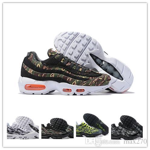 le dernier c595e 73226 nike air max Original 95 Hommes Chaussures De Course chaussure homme 95s  Hommes Sport Trainers marron Noir Blanc Designer Sneakers Zapatos 98 Taille  ...