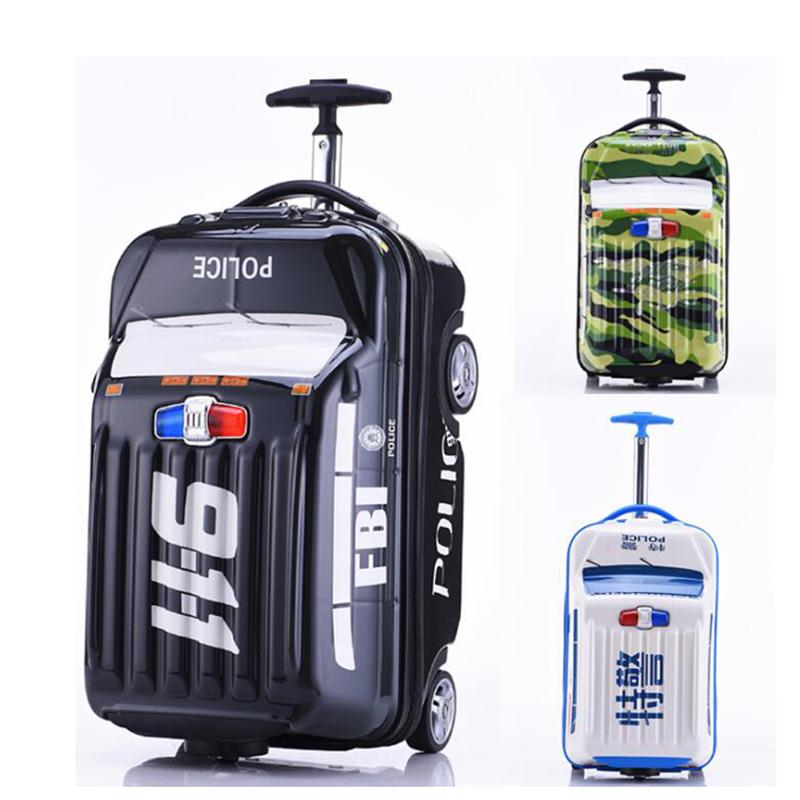 80c362cbd07c Carrylove 18 inch kids cute suitcase case carry on trolley car small  rolling luggage on wheels