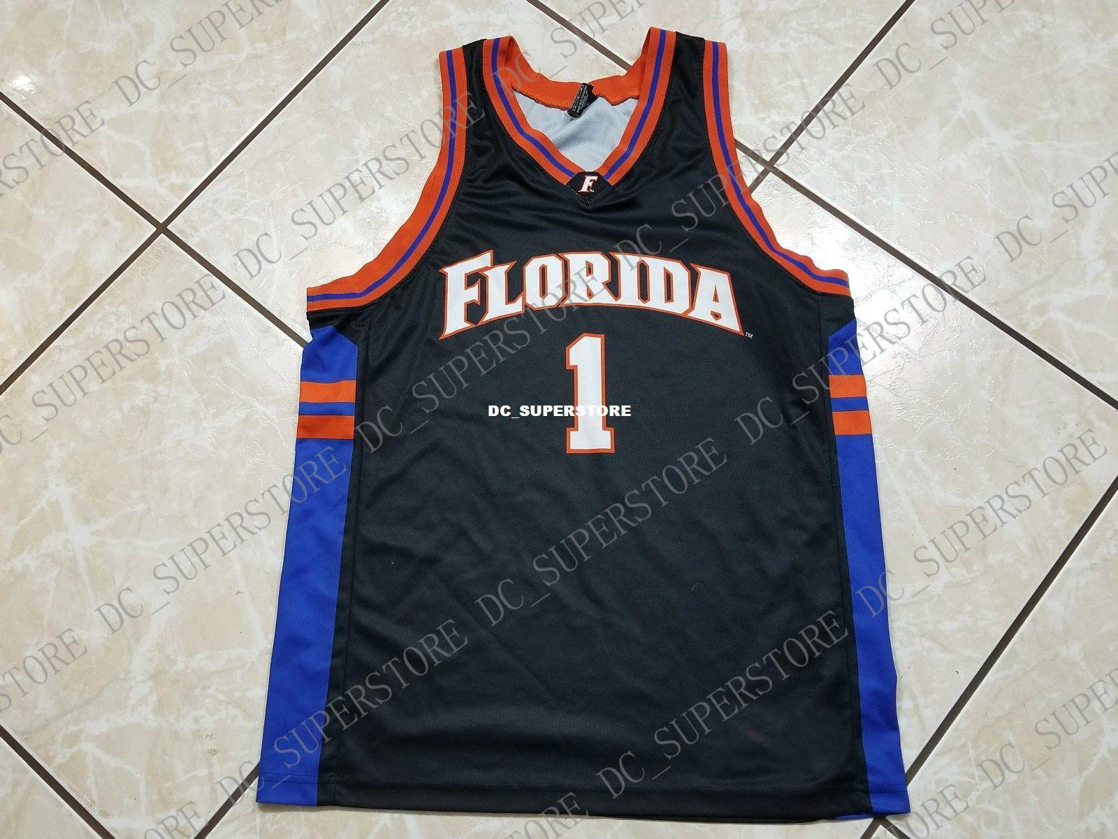 best service a876a d64f9 Cheap custom Vintage FLORIDA GATORS Basketball Jersey Black Stitched  Customize any number name MEN WOMEN YOUTH XS-5XL