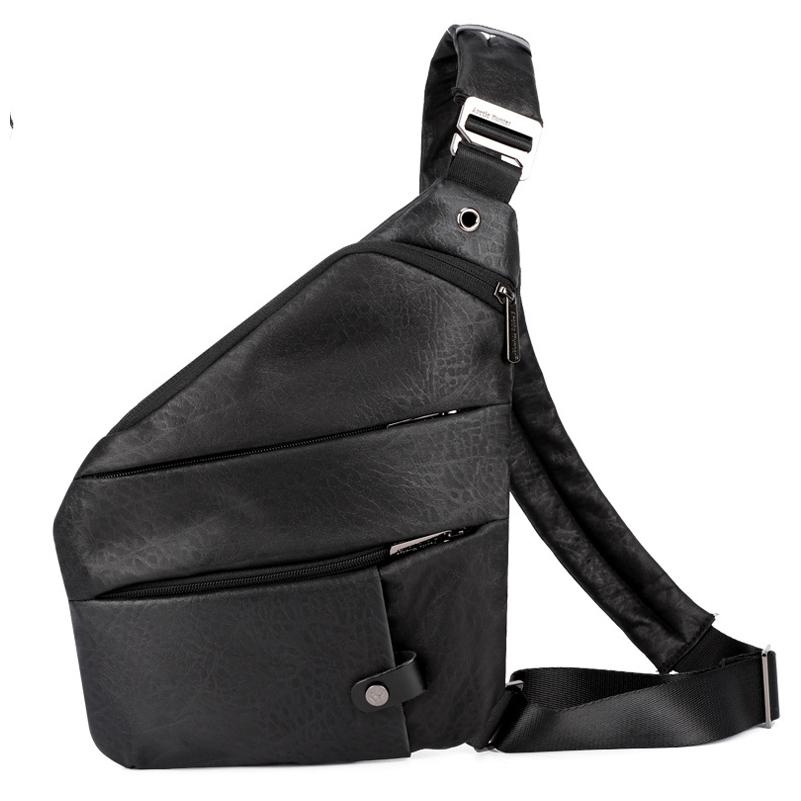 Digital Storage Bag Male Trend Chest Bag Oxford Cloth Slung Sports Pockets Multi-function Personal Shoulder Anti-Theft