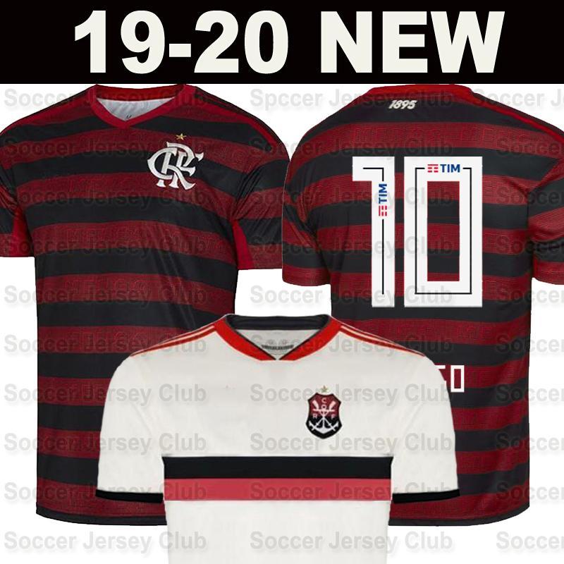 cheap for discount e11cc 868b2 Flamengo-Trikot 2019 2020 Flämisch GUERRERO DIEGO VINICIUS JR 19 20 Trikots  entfernt weißes Trikot mit thailändischer Qualität