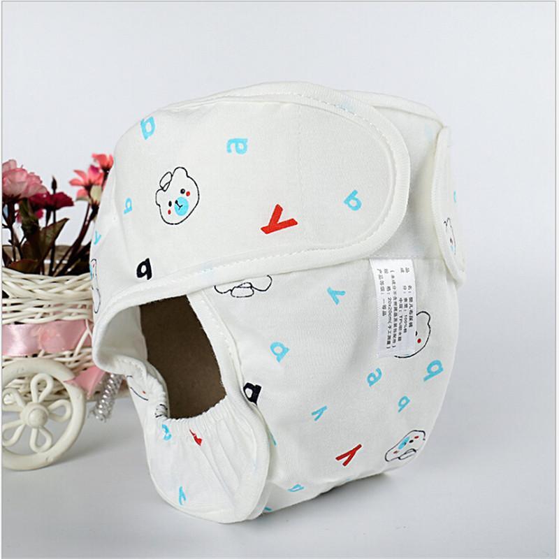 قابلة لإعادة الاستخدام لوط طفل اطفال اطفال بنين بنات الطباعة الحيوانية عارضة جميل قابل للغسل حفاضات القماش الحفاظات واحد أزواج