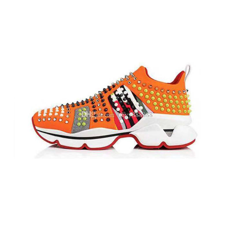 5f6df05d20a 2019 NEW Designer Sneakers Red Bottom Shoe Luxury Shoes For Men And Women  Shoes Wedding Crystal Leather Casual Shoes Cheap Shoes Online Summer Shoes  From ...