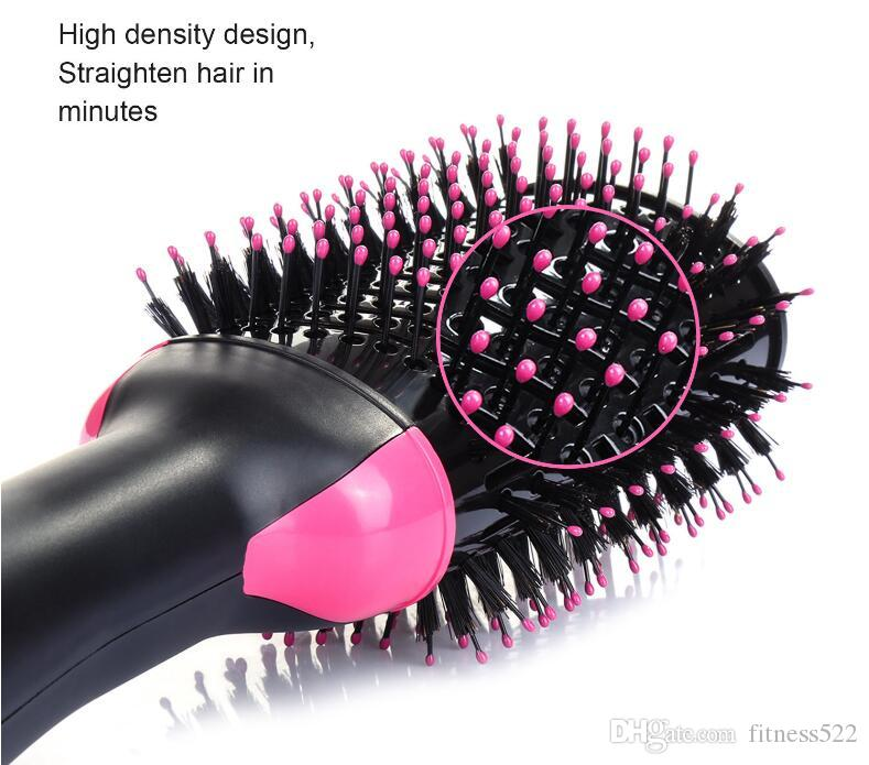 1pcs Shopify Dropshipping Hair Brush One-Step Hair Dryer & Volumizer  Negative Ion Generator Hair Curler Straightener Styling Tools