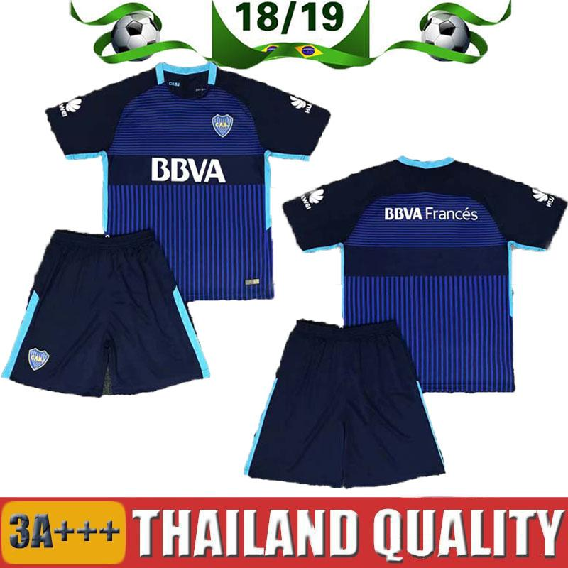 77572a77a9c 2019 2020 Boca Juniors Home Adult Kit Soccer Jerseys Uniforms Men's ...
