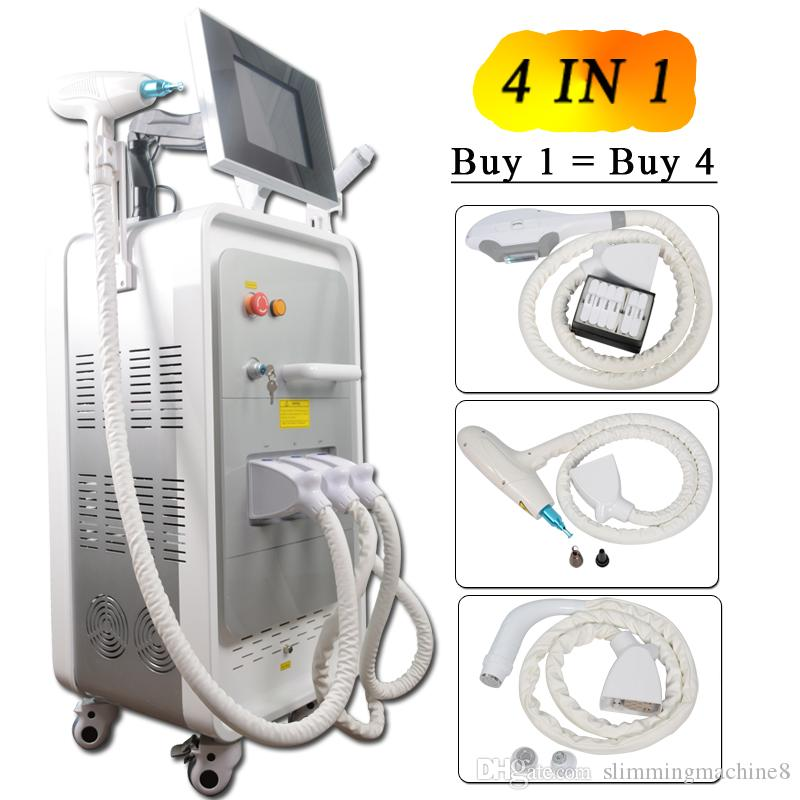 2019 New Professional best IPL machine for hair removal elight Skin  Rejuvenation Pigment nd yag laser tattoo removal laser Machine