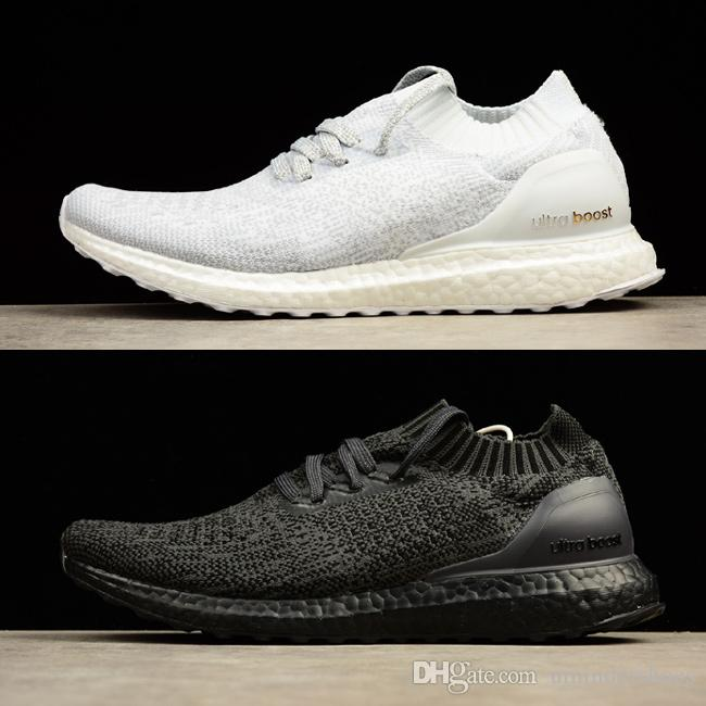 ab64444ac66b 2019 Buy Ultra Boosts Uncaged UltraBoost Triple Black White Shoes. Hight  Quality Ultraboost Uncaged Sneakers Come In Mens Women Size Run Shoe From  ...
