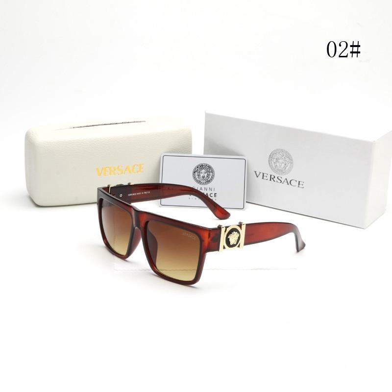 6a8f1302d9ac4 With Box Fashion Sunglasses Luxury Designer Sunglasses Vintage Mens Brand  Designer Gold Frame Sun Glasses Women Top Quality SGA11 Glass Frames Online  ...