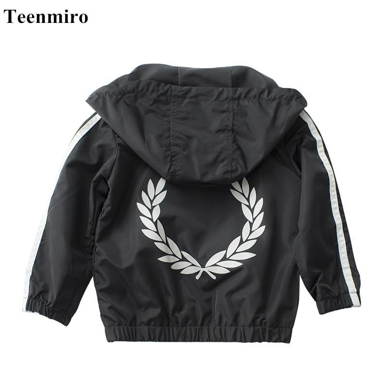 69572393b944 2018 Baby Boy Jacket Girl Coat Kids Windbreaker Outerwear Boys ...