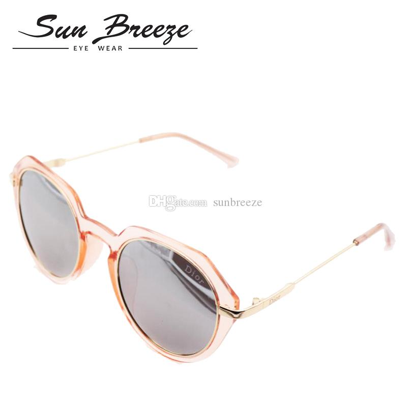 0e1f18436f26 2019 New Fashion Oval Sun Glasses UV Protection Summer Style Metal Frame  New Summer Products Outdoor Design For Men Women With Box Case Cycling  Sunglasses ...