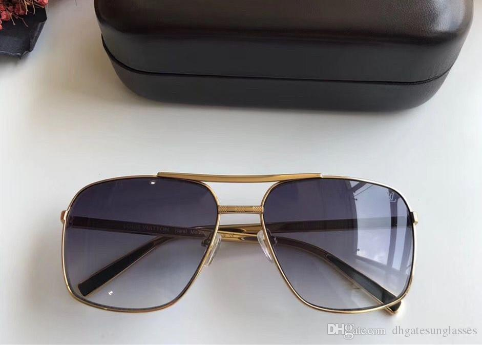 new fashion classic sunglasses attitude sunglasses gold frame square metal frame vintage style outdoor design classical model 2348