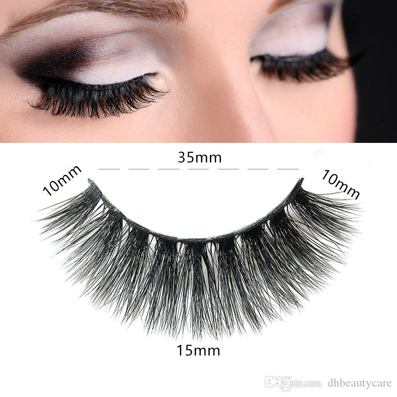 3a402568845 Hot 3d Mink False Eyelashes Thick Natural Lifelike 12 Styles 100% Hand Made  Mink Lashes Eye Makeup Fake Eyebrows How To Apply False Eyelashes From ...